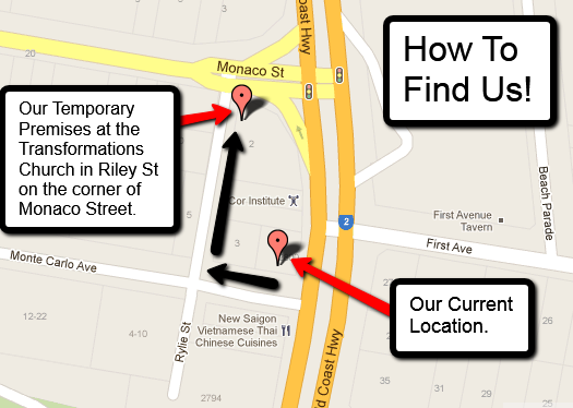 Map to Temp Premises